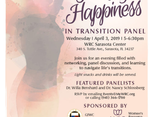 Finding Happiness | In Transition Panel